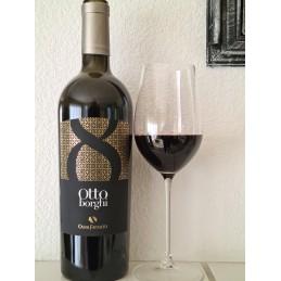 Otto borghi, vino rosso