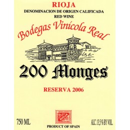 200 Monges Reserva, Rioja DOCa