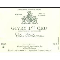 Givry 1er Cru Clos Salomon AC